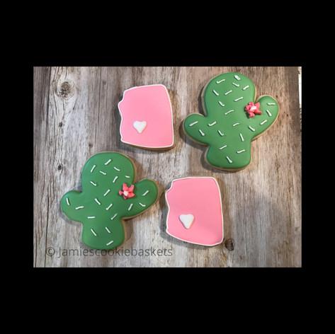Arizona and Cactus Cookies