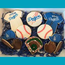 LA Dodger Cookies
