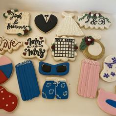 Pool Party_Graduation Cookies