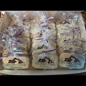 Stone Creek Logo Cookies