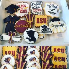 ASU Gradution Cookies