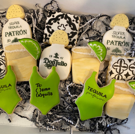 Tequila Themed Cookies