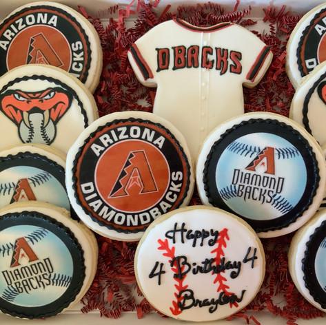 Arizona Diamondback Cookies