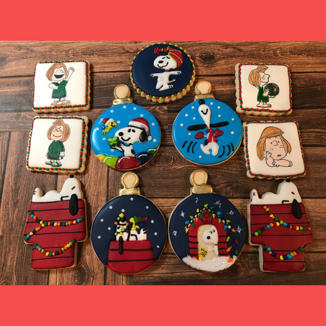 Peanuts Christmas Cookies