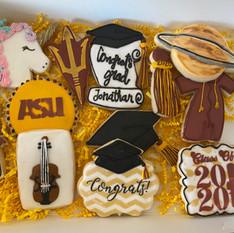 ASU Graduation Cookies