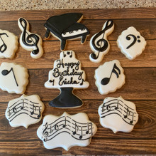 Musical Themed Cookies