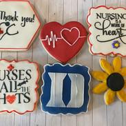 Duke University Nurse Cookies