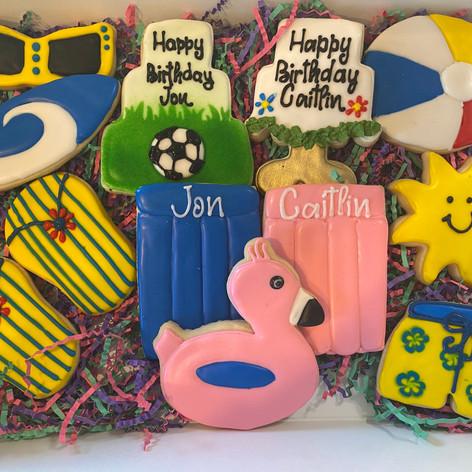 Pool Cookies