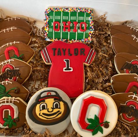 Ohio State Cookies