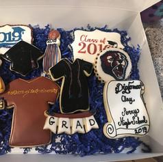 Perry High School Graduation Cookies