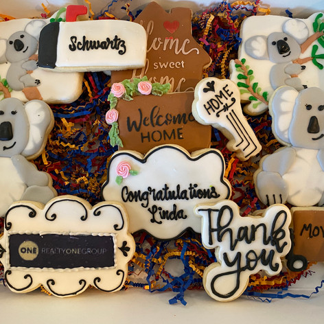 Realty One Closing Cookies