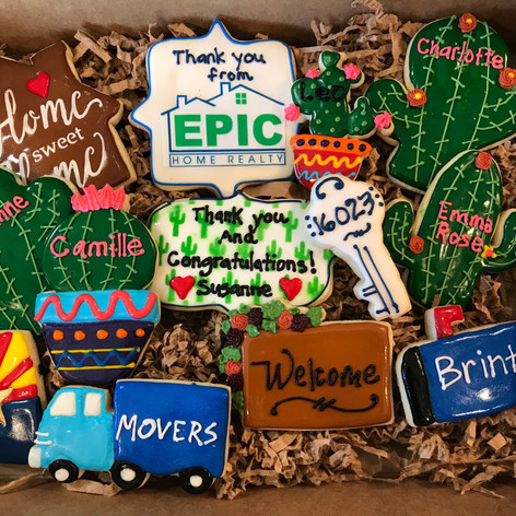 Epic Home Realty Closing Cookies