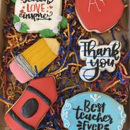 Teacher Appreciation Cookies 2020