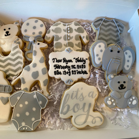 New Baby Cookies