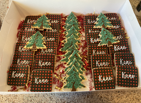 Latest Cookie Creations -Jan and Feb 2020
