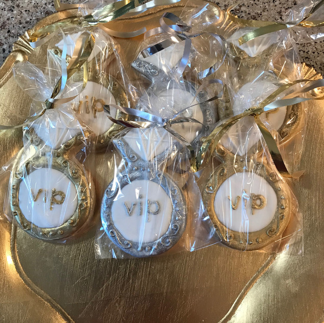 VIP Ring Logo Cookies
