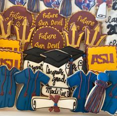 High School Graduation Cookies