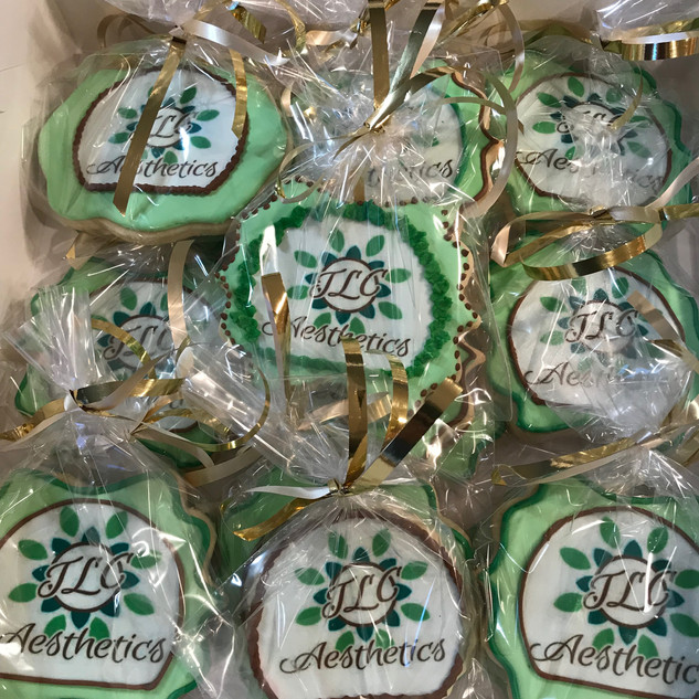 Spa Logo Cookies