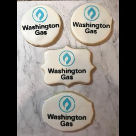 Washington Gas Logo Cookies