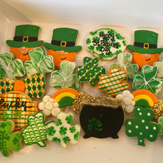 St Patrick Days Cookies