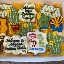 Arizona Themed Cookies