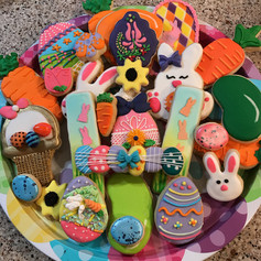 Easter Cookie Platter