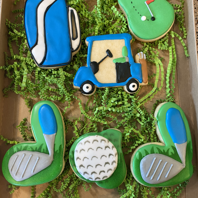 Father's Day Golf Themed