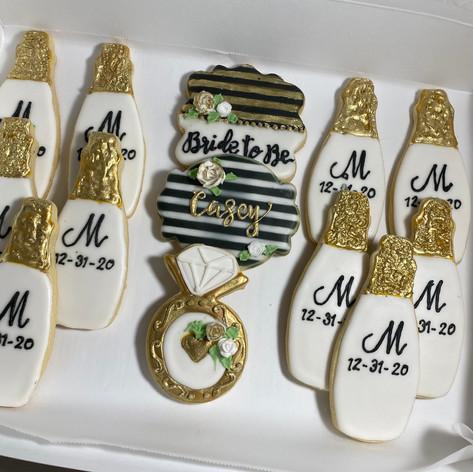 Bridesmaid Cookies