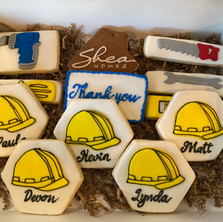 Shea Homes Closing Cookies