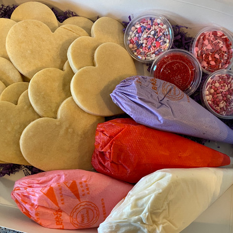 Valentines Day Cookie Decorating Kit