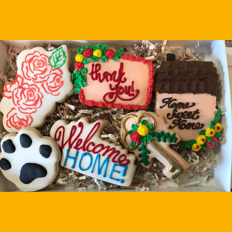 Cookies for a new home