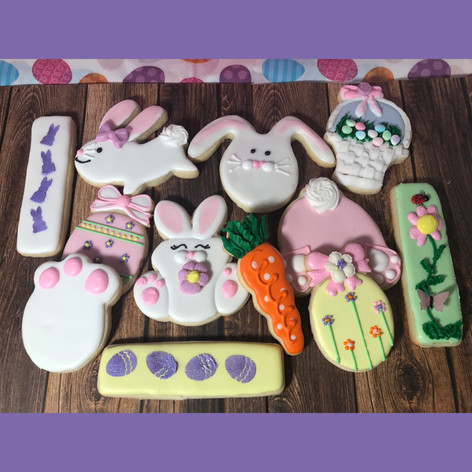 Custom Easter Cookies
