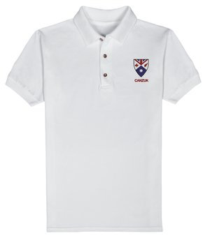 Embroidered 'CANZUK Shield' Polo, Men's