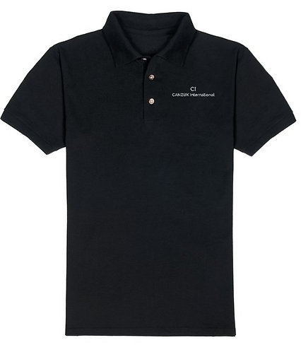 Embroidered 'CANZUK International' Polo, Mens