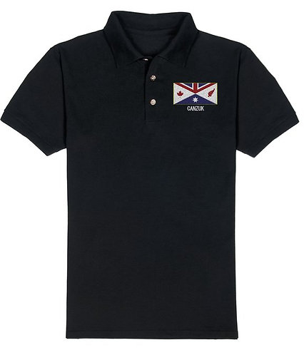 Embroidered 'CANZUK Flag' Polo, Men's