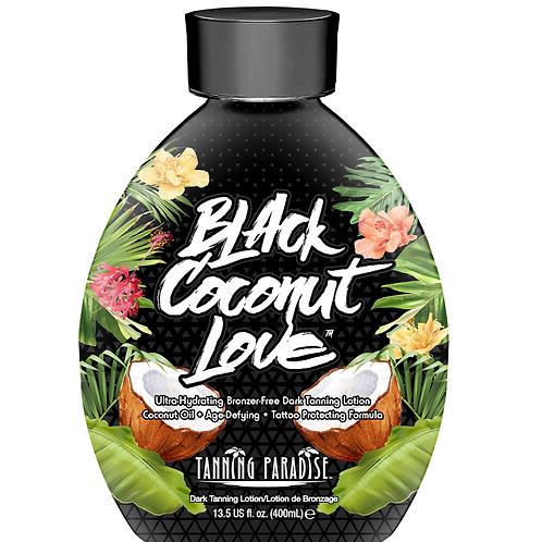 Tanning Paradise Black Coconut Love Tanning Lotion 13.5oz