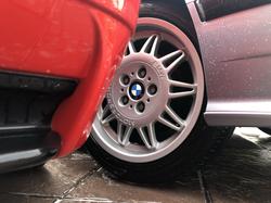 BMW E36 Car Wash