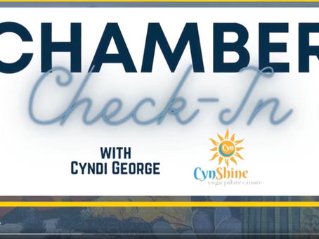 Gilbert Chamber of Commerce Cynshine™ Interview
