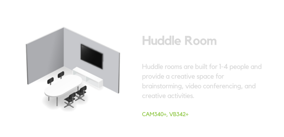 AVer Systems for Huddle Room
