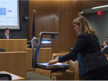 Courtroom Technology: The Role of Visualisers in the Courtroom