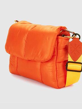 First Base X Urban Status Fashionably Sporty Puff Shoulder Bag | High Alert