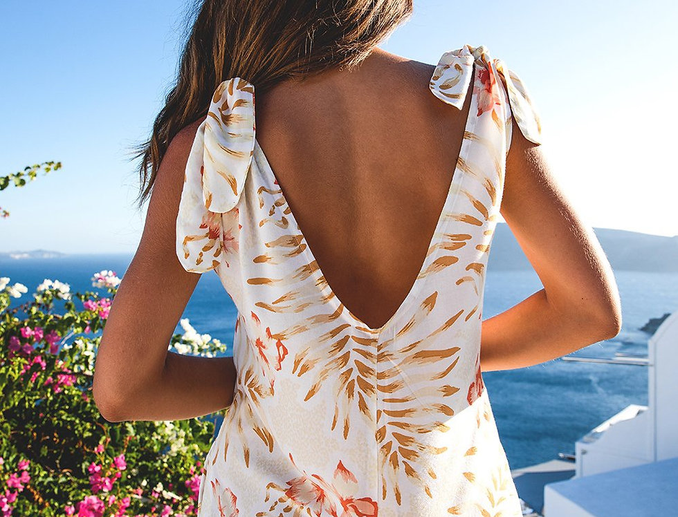 Le- Salty Label, Sienna Romper | Sunset Bloom