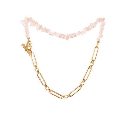 Pietra Necklace   Rose