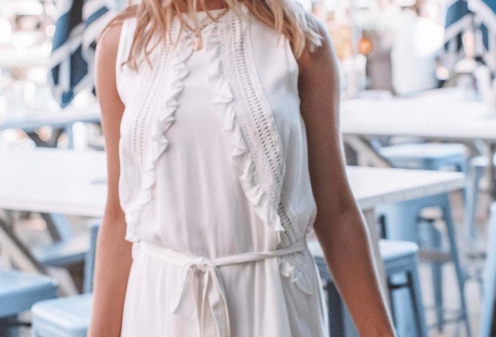 Three of Something, Sea Salt Dress | White
