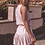 Thumbnail: Three of Something, Sea Salt Sleeveless Mini Dress with Bodice Detail | Pink