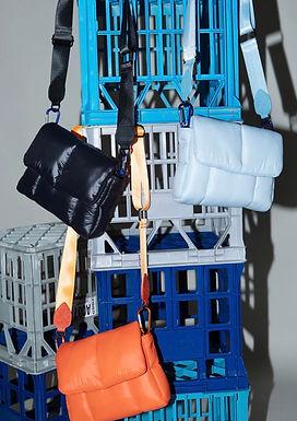 First Base X Urban Status Fashionably Sporty Puff Shoulder Bag | Neo