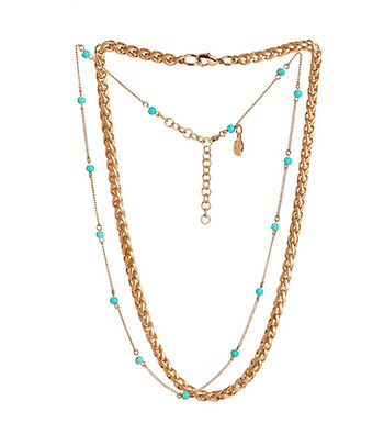 Alanno Beaded Necklace Set