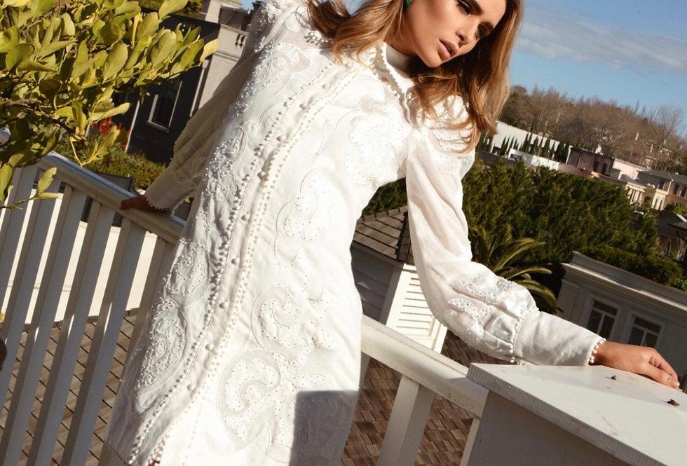 Mackenzie Mode, Topiary Dress | Winter White