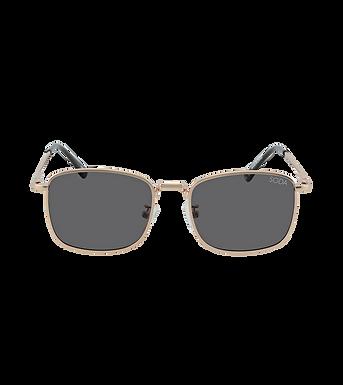 Soda Shades, Harper Premium Polarised On Trend Sunglasses   Gold / Black