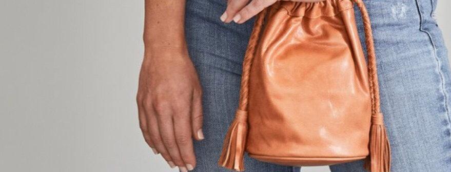 Scarlet Mini Bucket Bag | Gingerbread